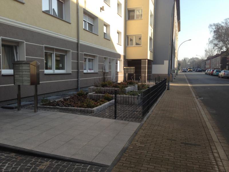 Umzäunung Wohnhaus Korte Garten- und Landschaftsbau