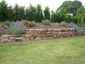 Steinmauer Garten Korte Garten- und Landschaftsbau