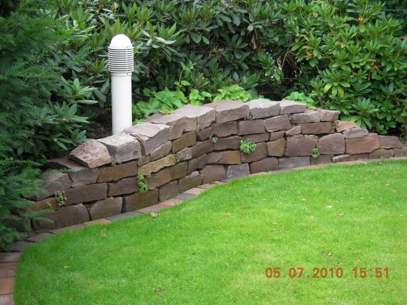 Steinmauer Korte Garten- und Landschaftsbau