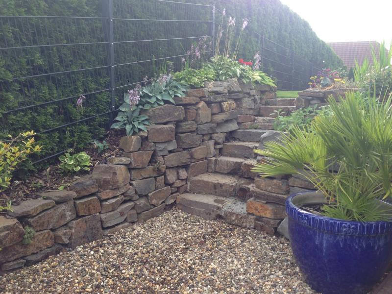 Steintreppe Garten Korte Garten- und Landschaftsbau