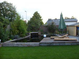 Liegen am Teich Korte Garten- und Landschaftsbau