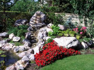 Wasserlauf Stein Korte Garten- und Landschaftsbau