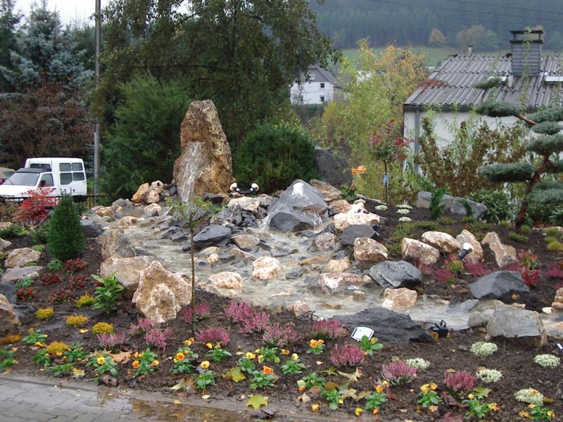 Springbrunnen Korte Garten- und Landschaftsbau