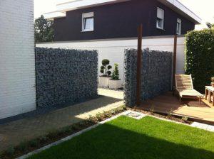 Steine in Zaun Korte Garten- und Landschaftsbau