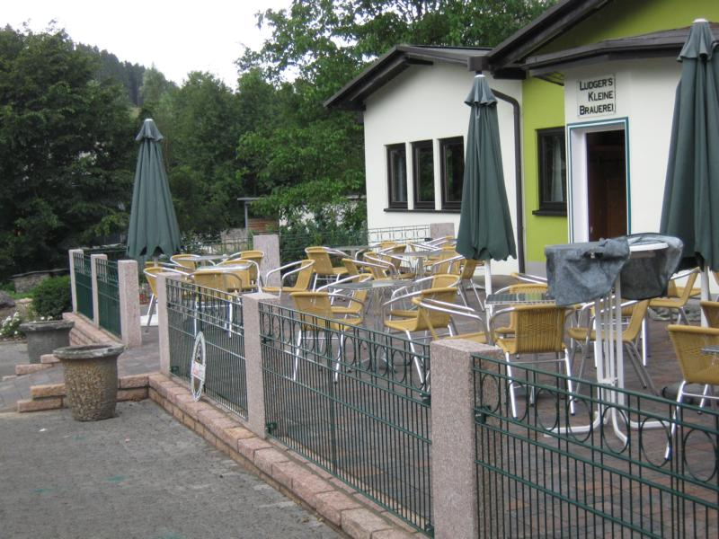 Zaun Terasse Brauerei