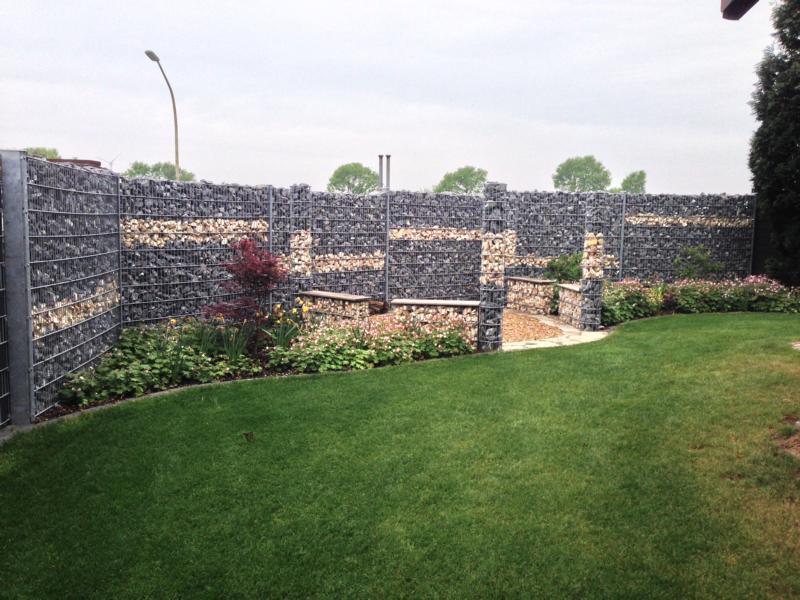 Steinzäune Korte Garten- und Landschaftsbau