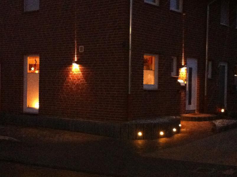 Fassadenbeleuchtung Korte Garten- und Landschaftsbau