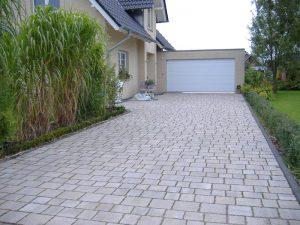 Garagenzufahrt Pflasterung Korte Garten- und Landschaftsbau