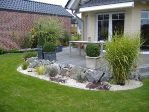 Steinbeet Korte Garten- und Landschaftsbau