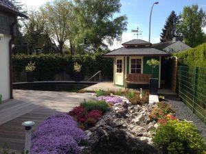 Pflanzungen rund um Teich Korte Garten- und Landschaftsbau