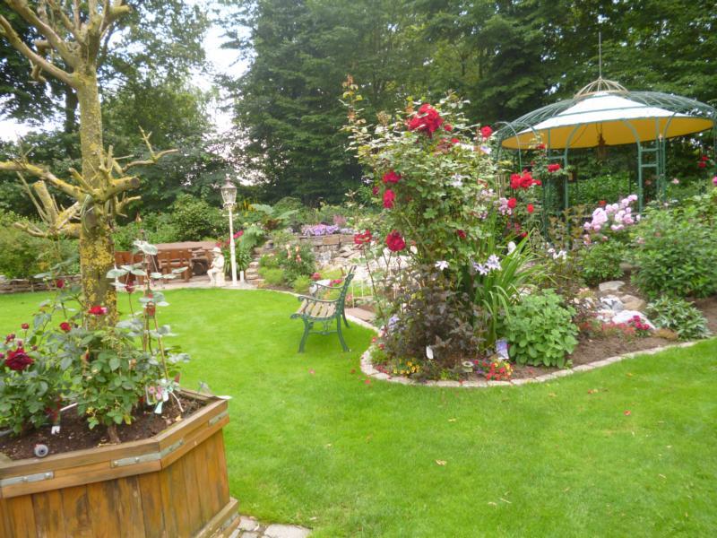 Gartengestaltung Rosen