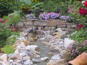 Wasserspiele Teich Korte Garten- und Landschaftsbau