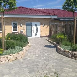 Plafsterung Eingangsbereich Korte Garten- und Landschaftsbau