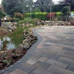 Pflasterung Teich Korte Garten- und Landschaftsbau