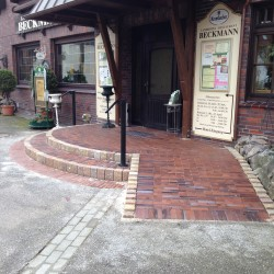Pflasterung Eingangsbereich Korte Garten- und Landschaftsbau