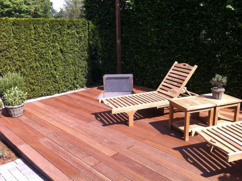 Terassenbau Holz Korte Garten- und Landschaftsbau